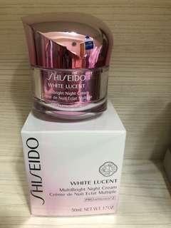 Shiseido white lucent晚霜50ml