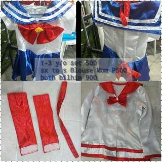 Custome supergirl 2-4 y/o supergirl mommy xs