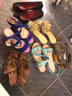 高踭鞋、鬆高鞋