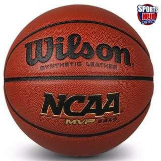 🚚 Wilson NCAA MVP Indoor/Outdoor Basketball - Size 7
