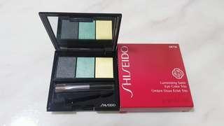 Authentic shiseido luminizing satin eye color trio