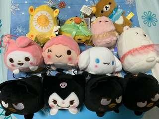 Dango Toys: Sanrio/Rilakkuma/Sumiko Characters