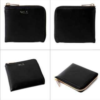 agnès b VOYAGE leather coin case
