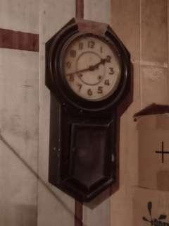 Antique clockb