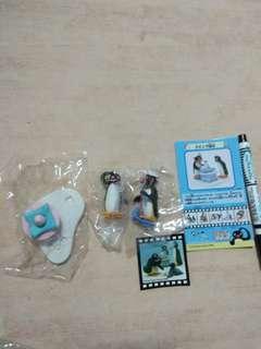 🚚 pingu 企鵝家族 絕版 食玩公仔 玩具 無外盒
