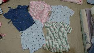 嬰兒包屁衣 日式和服 日式浴衣 寶寶連身衣