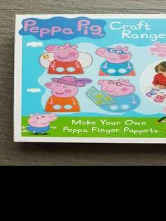 Peppa Pig Finger Puppet Craft