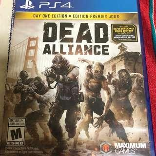 Dead Alliance PS4 Zombies Shooting Game Playstation 4 PS 4