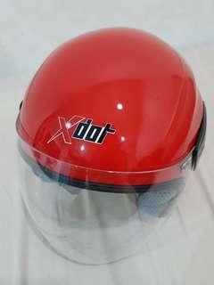 Brand New XDOT Red Helmet