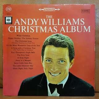 The Andy Williams Christmas Album Vinyl Record