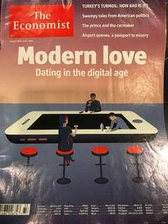 The Economist : Modern Love - Dating in the Digital Age