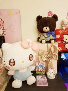 日本 SEGA HELLO KITTY布偶
