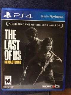 The last of us - remastered ps4