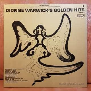Reserved: Mint》Dionne Warwick's Golden Hits Part 2 Vinyl Record