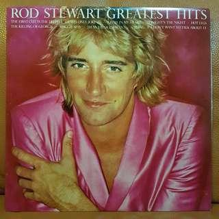 Reserved: Rod Stewart Greatest Hits Vinyl Record