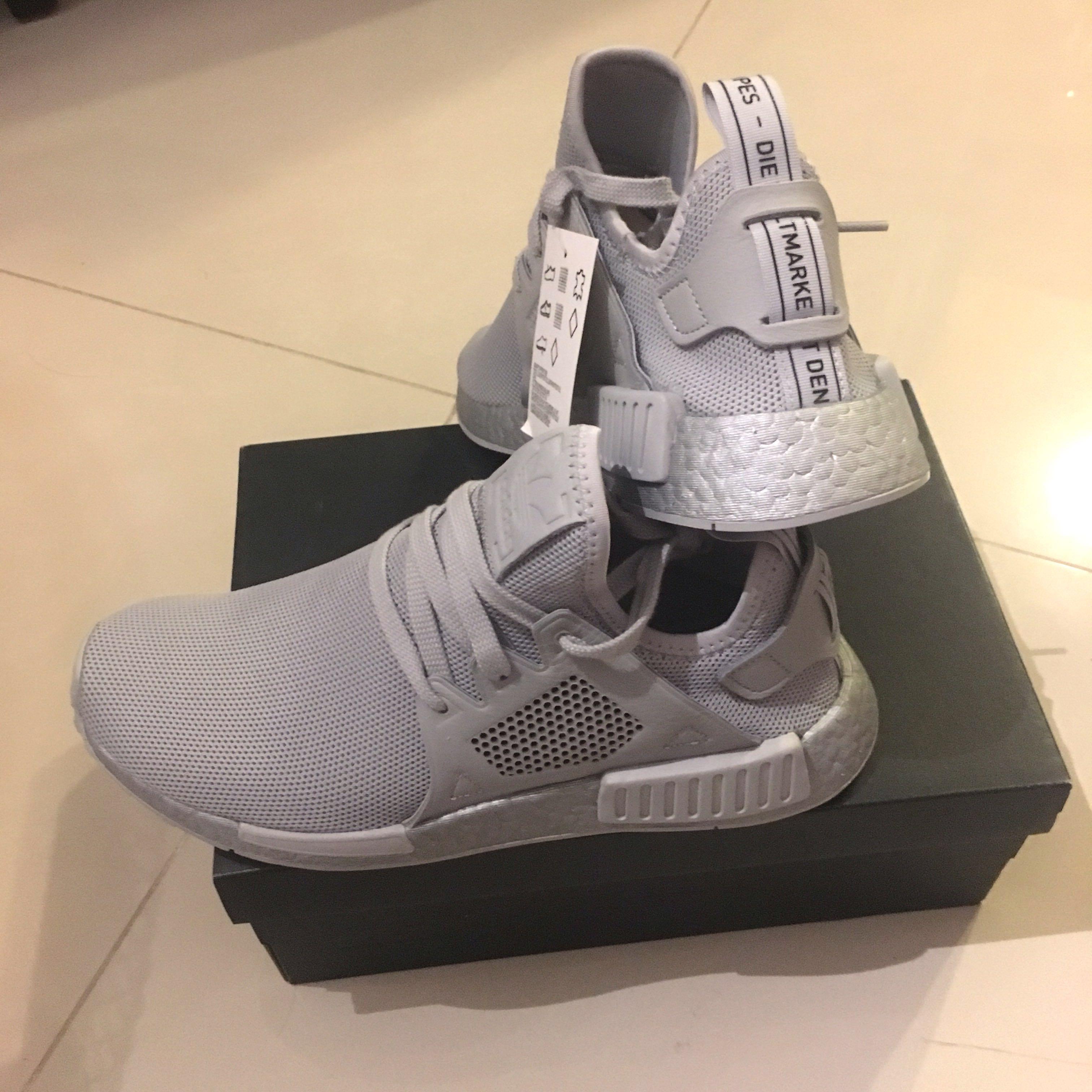 f173e8fb33987 Adidas NMD XR1 Triple Grey US 8.5 UK 8