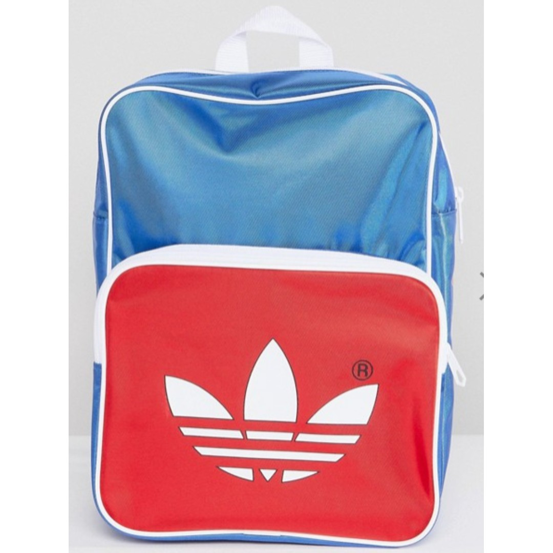 d702ab6e14d adidas Originals adicolor Retro Backpack In Blue CW2619, Men's ...