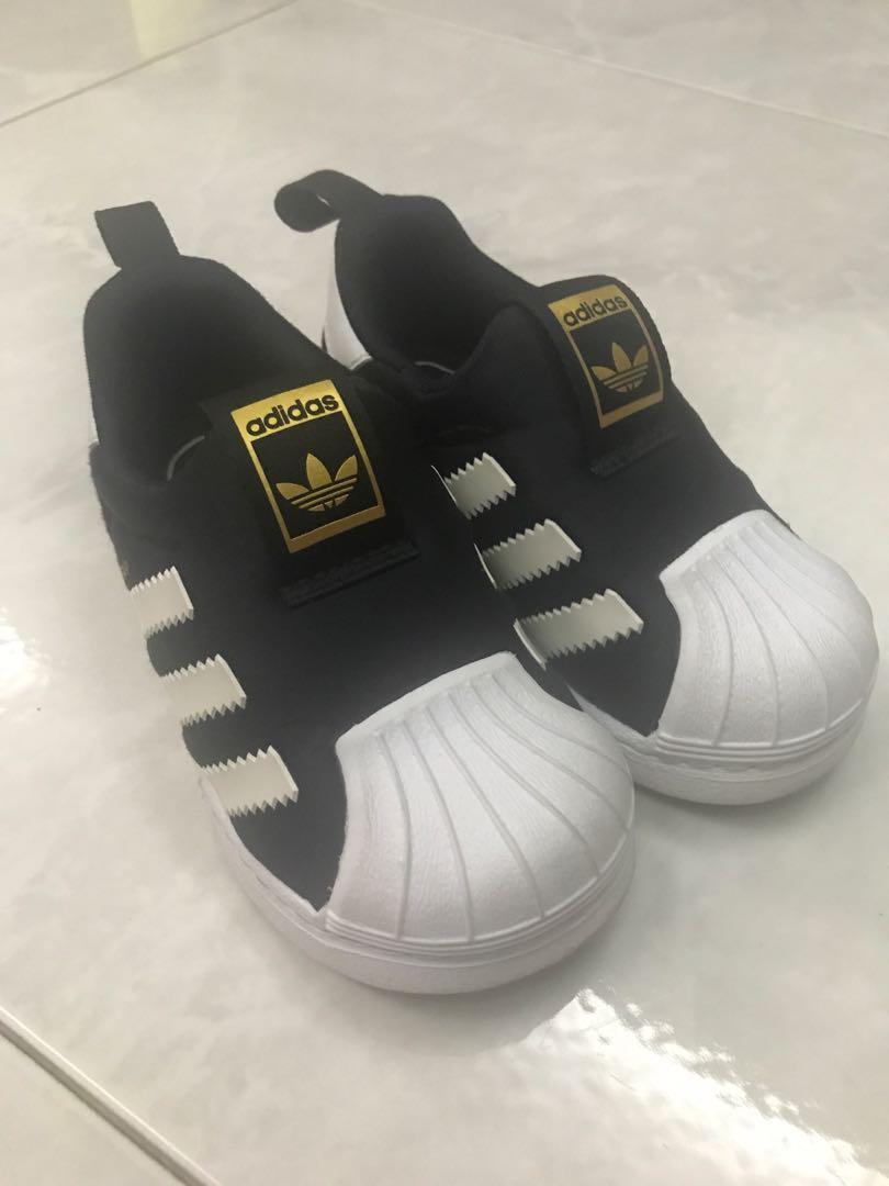 quality design 75a04 803af Adidas superstar slip on, Babies & Kids, Boys' Apparel, 1 to ...