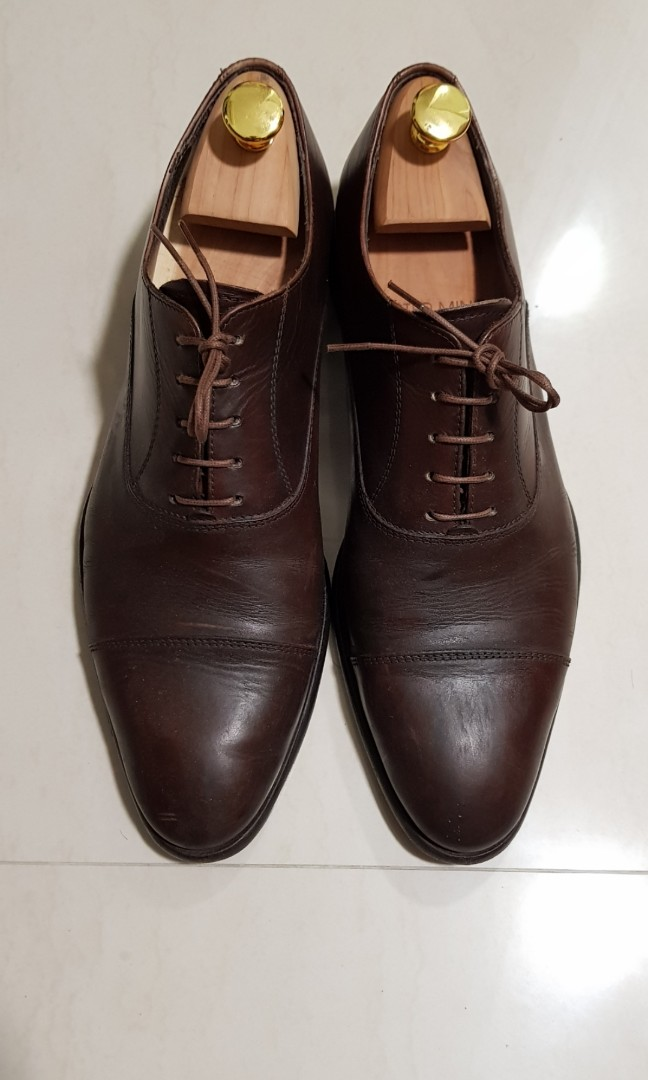 Alessandro Oxford Cap Toe Vero Cuoio (Made in Italy and from Real ... ec3bb94f67