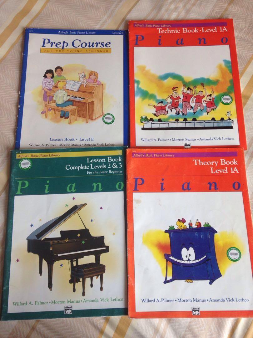 Alfred's piano books