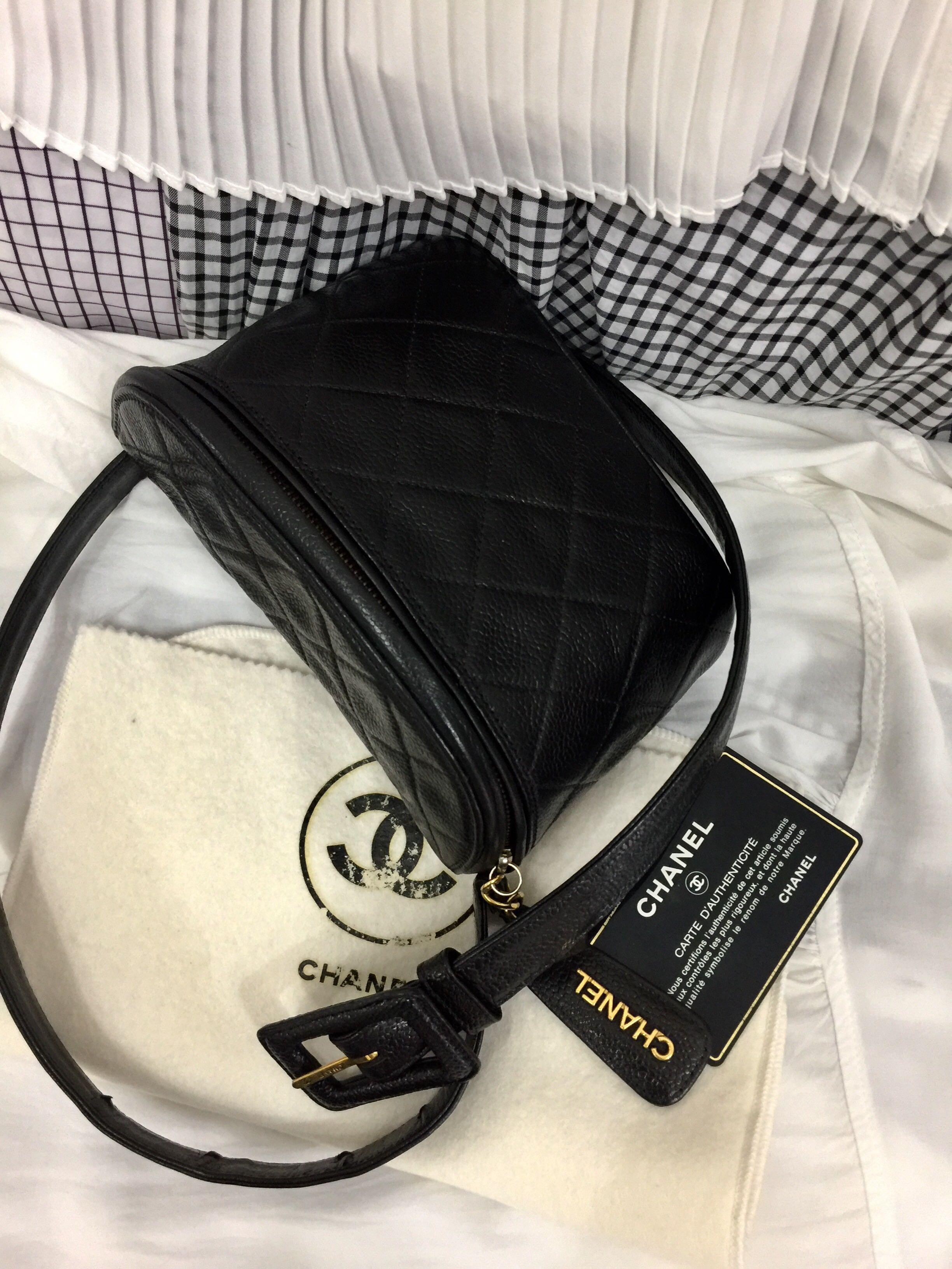 9625a258 Authentic chanel caviar vintage belt bag, Luxury, Bags & Wallets ...