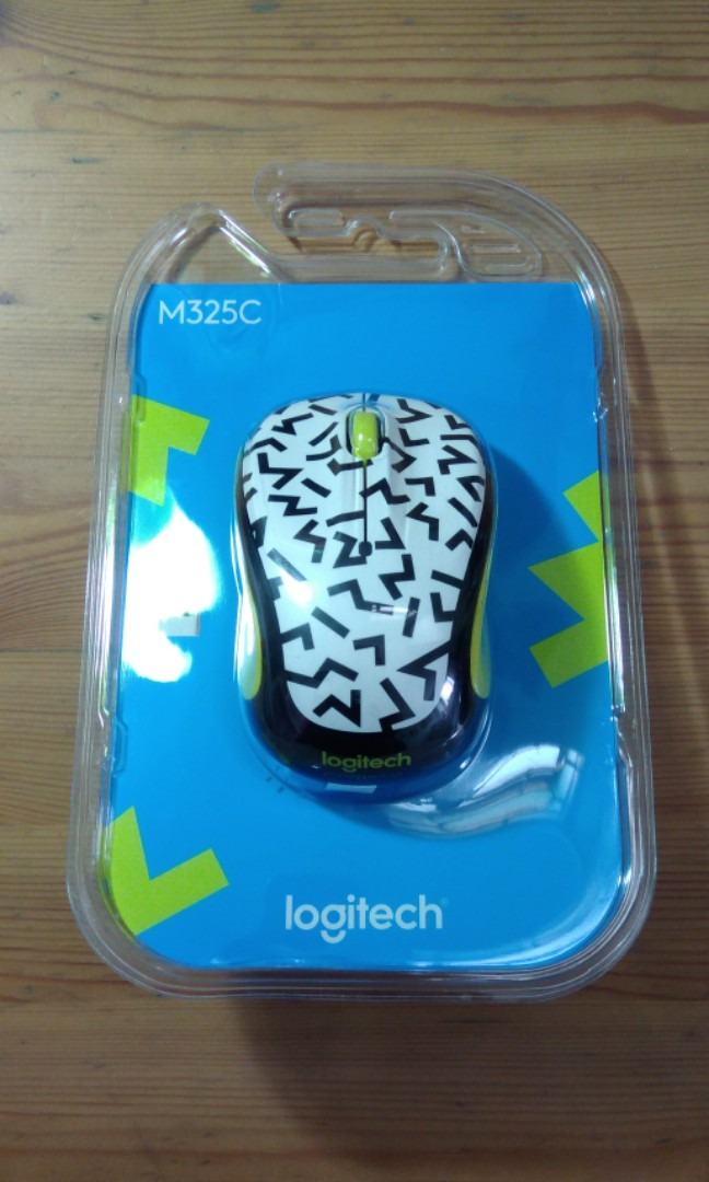BNIB Logitech M325C Wireless Mouse, Electronics, Computer