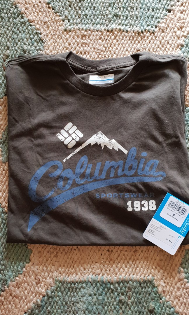 1e3653bf29f BNIT Columbia t-shirt, Men's Fashion, Clothes, Tops on Carousell