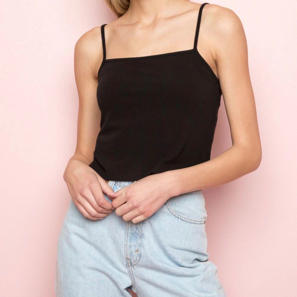 00be73785 BRANDY MELVILLE Faye Tank Top, Women's Fashion, Clothes, Tops on ...