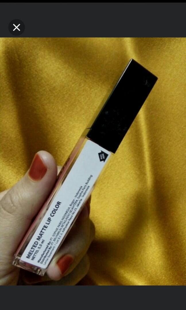 Brun brun melted matte lipstick shade 10