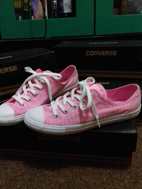 cf20cc168e35 ... netherlands converse slim pink white original womens fashion womens  shoes on carousell f7fe7 78f74