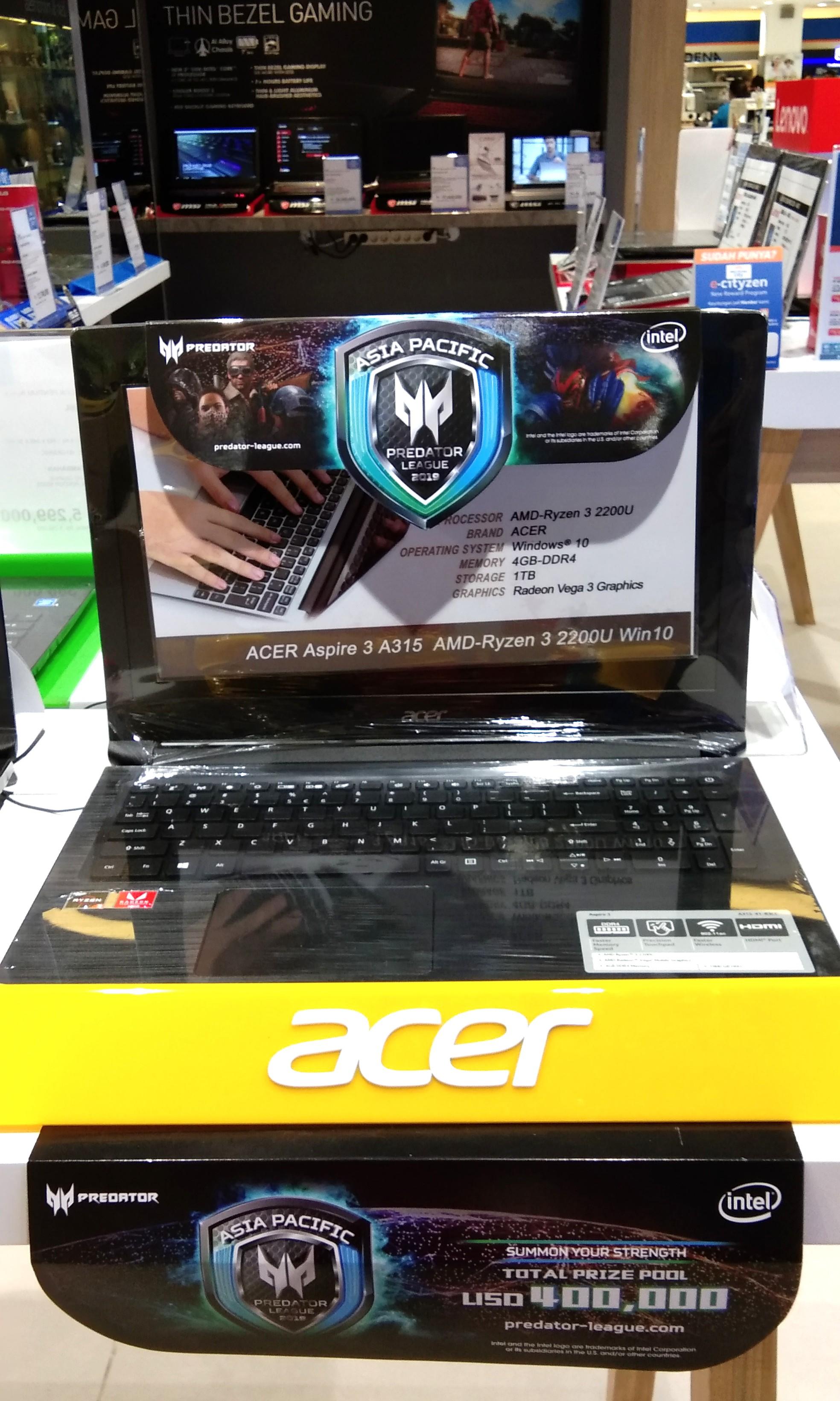 Bunga 0% Acer A315-41 RZN 3.K Promo Cicilan Tanpa Kartu Kredit ... ad3ec87818