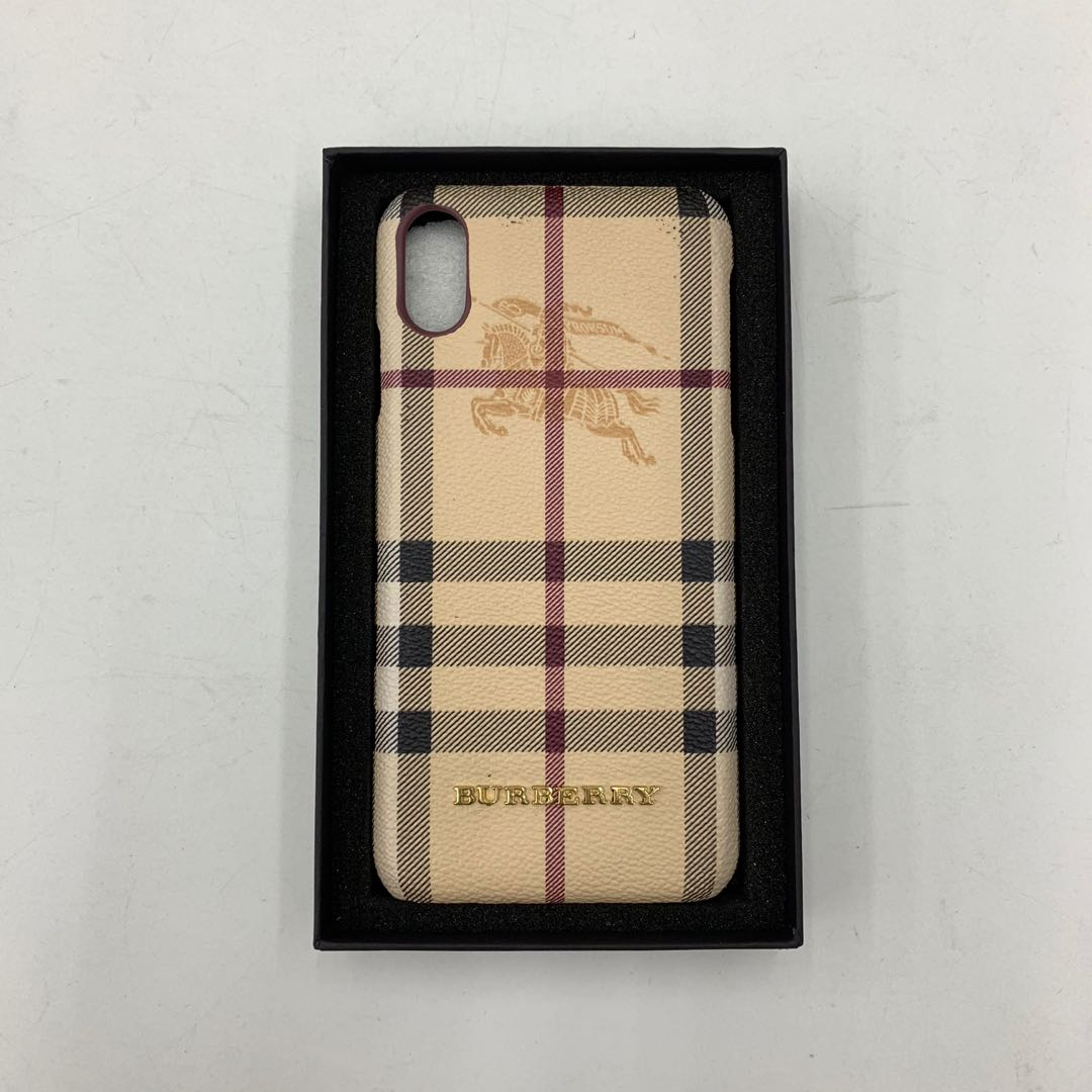 promo code 3c4d6 0aa83 Burberry iPhone Xs Max case