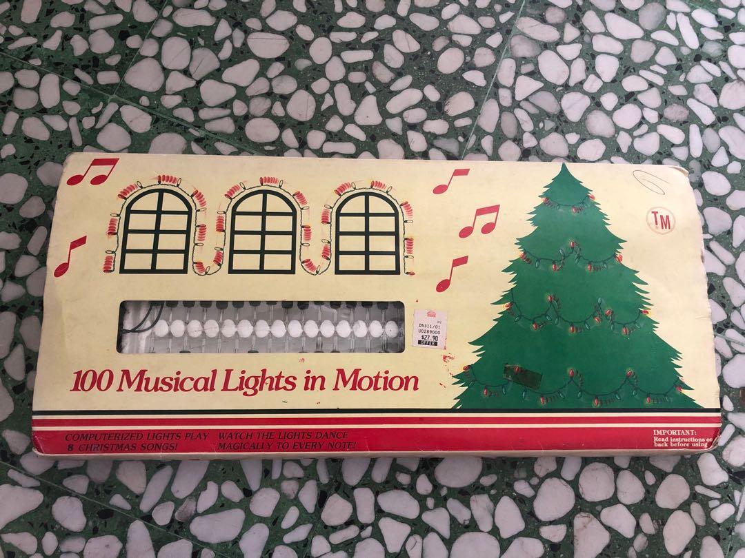 Musical Christmas Lights.Christmas Lighting And Music Everything Else On Carousell