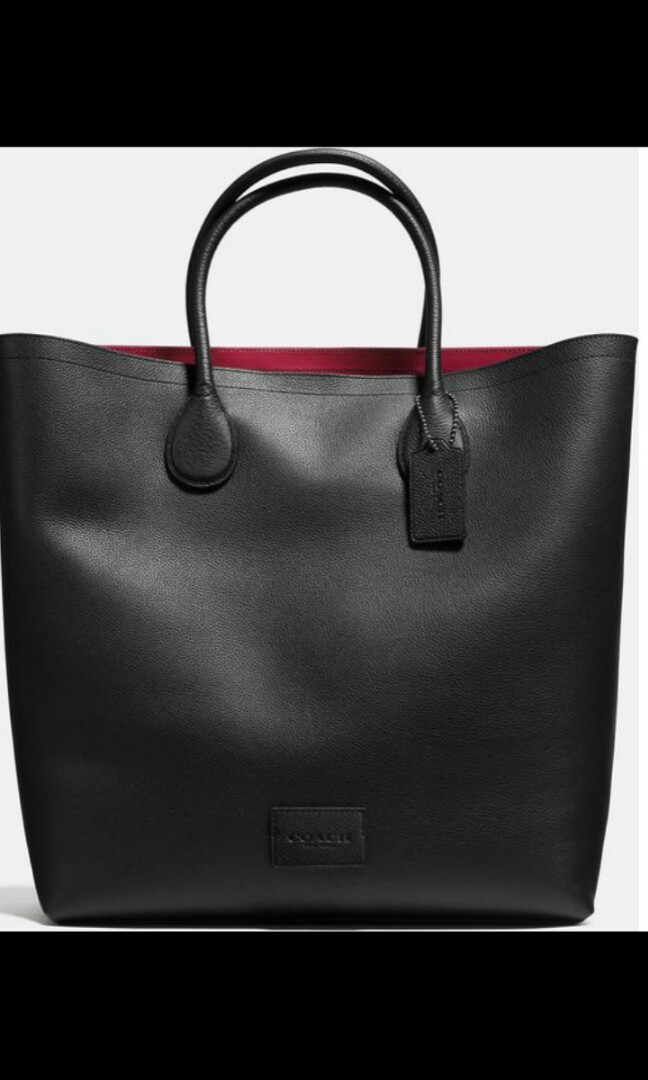cb7ac6cac6b5 Coach Black Mercer Tote bag, Luxury, Bags & Wallets, Others on Carousell