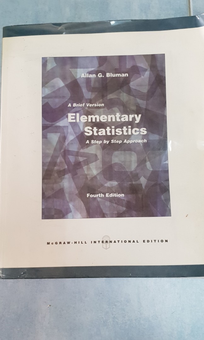 Elementary Statistics A Step By Step Approach 4ed Books