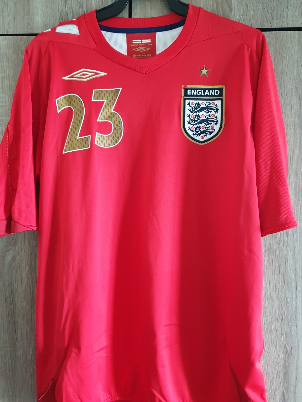 online store 3737a 3da21 England 2006 Theo Walcott jersey rare shirt, Sports, Sports ...