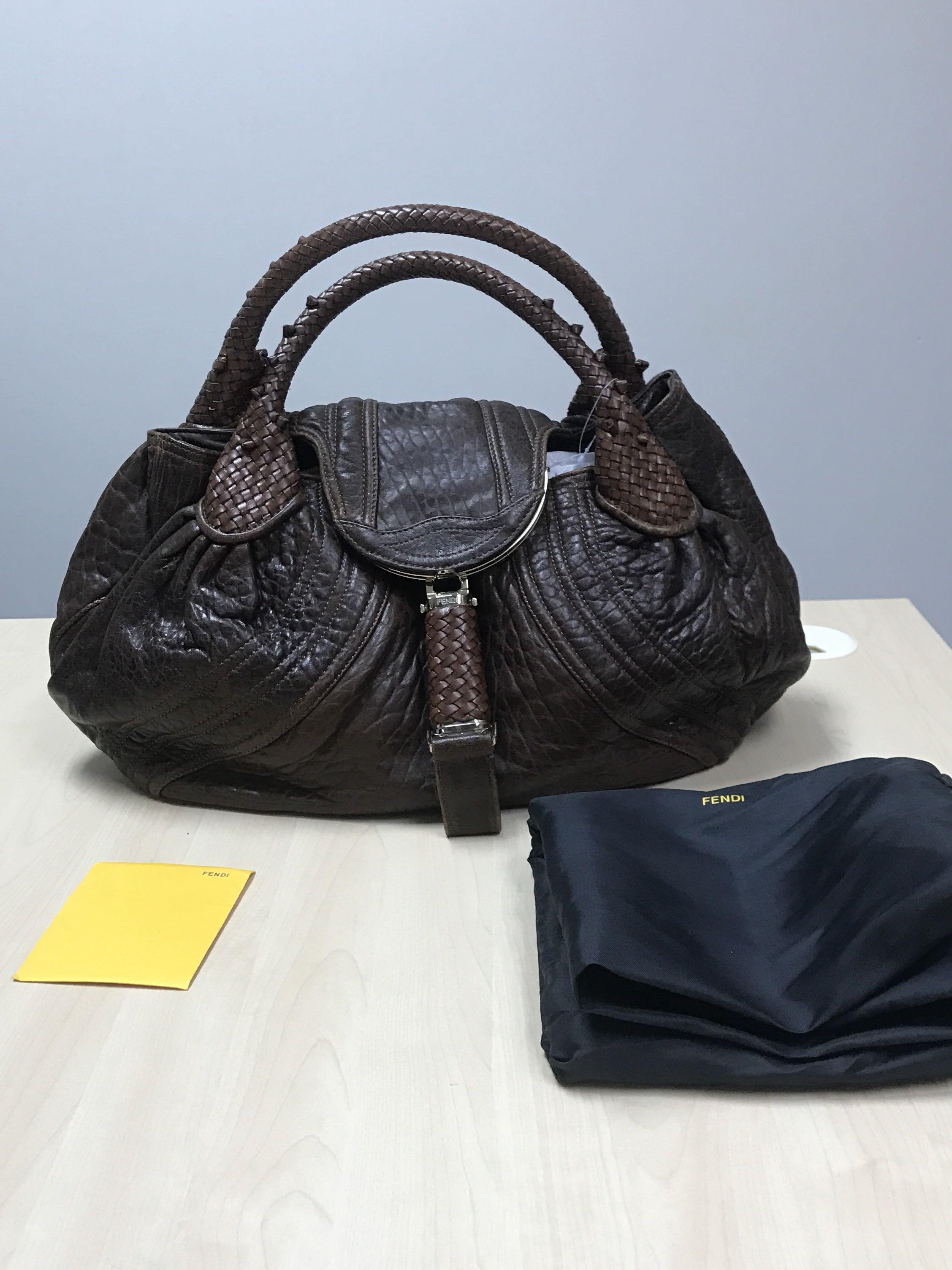 7e81d21f51d7 Fendi Spy Bag, Luxury, Bags & Wallets, Handbags on Carousell