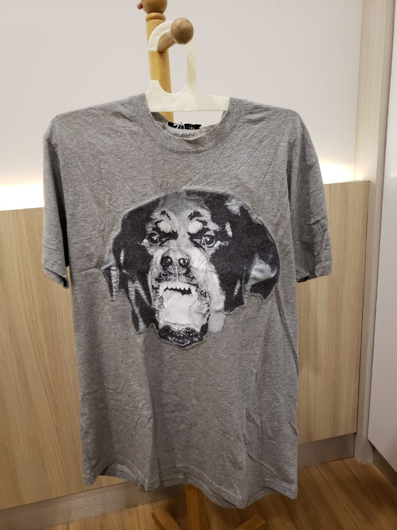 671ce2f9 Authentic Givenchy Rottweiler Grey t-shirt / tee, Men's Fashion ...