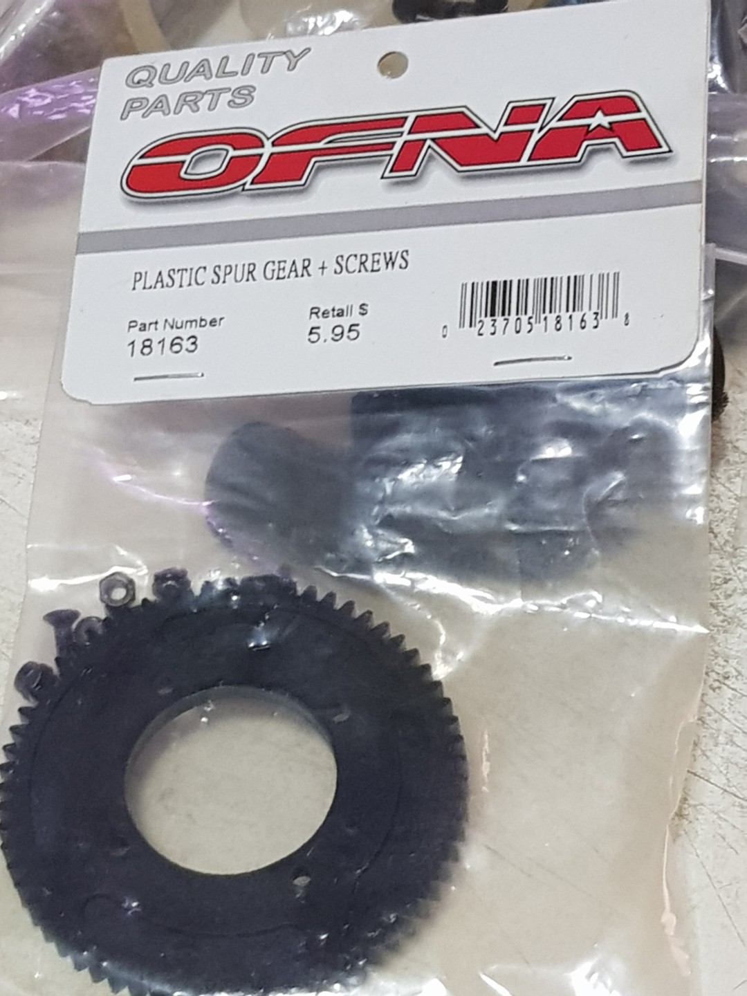 Hobao, Ofna, Hong Nor Pirate 8 Scale Monster Truck Drive Gear