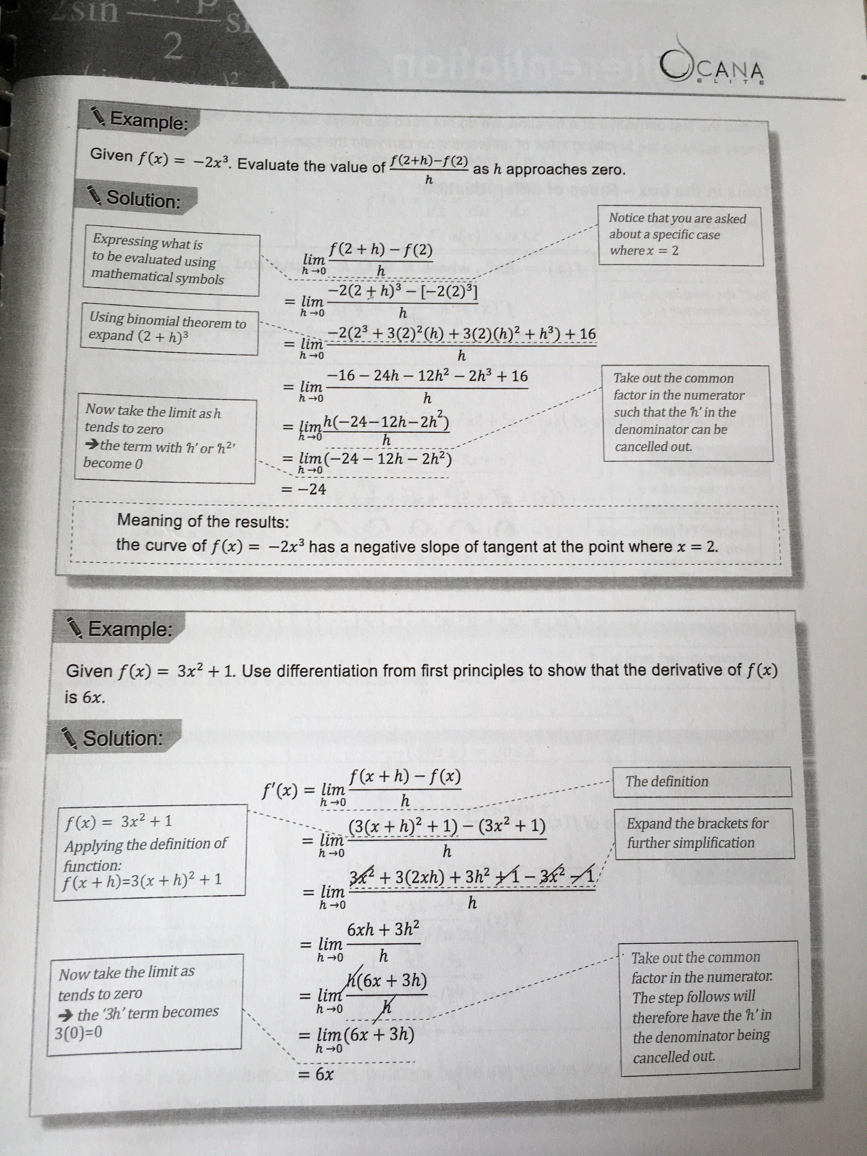 IB Math SL CANA Study Guide, Books & Stationery, Textbooks