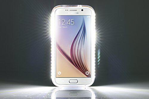 uk availability f649b b9a85 LED Illuminated Phone Case Selfie For Samsung S5