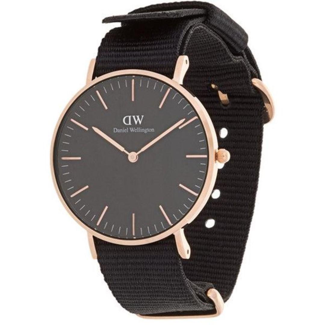 Local Warranty Daniel Wellington Classic Black Cornwall 36mm Watch, Men's Fashion, Watches on Carousell