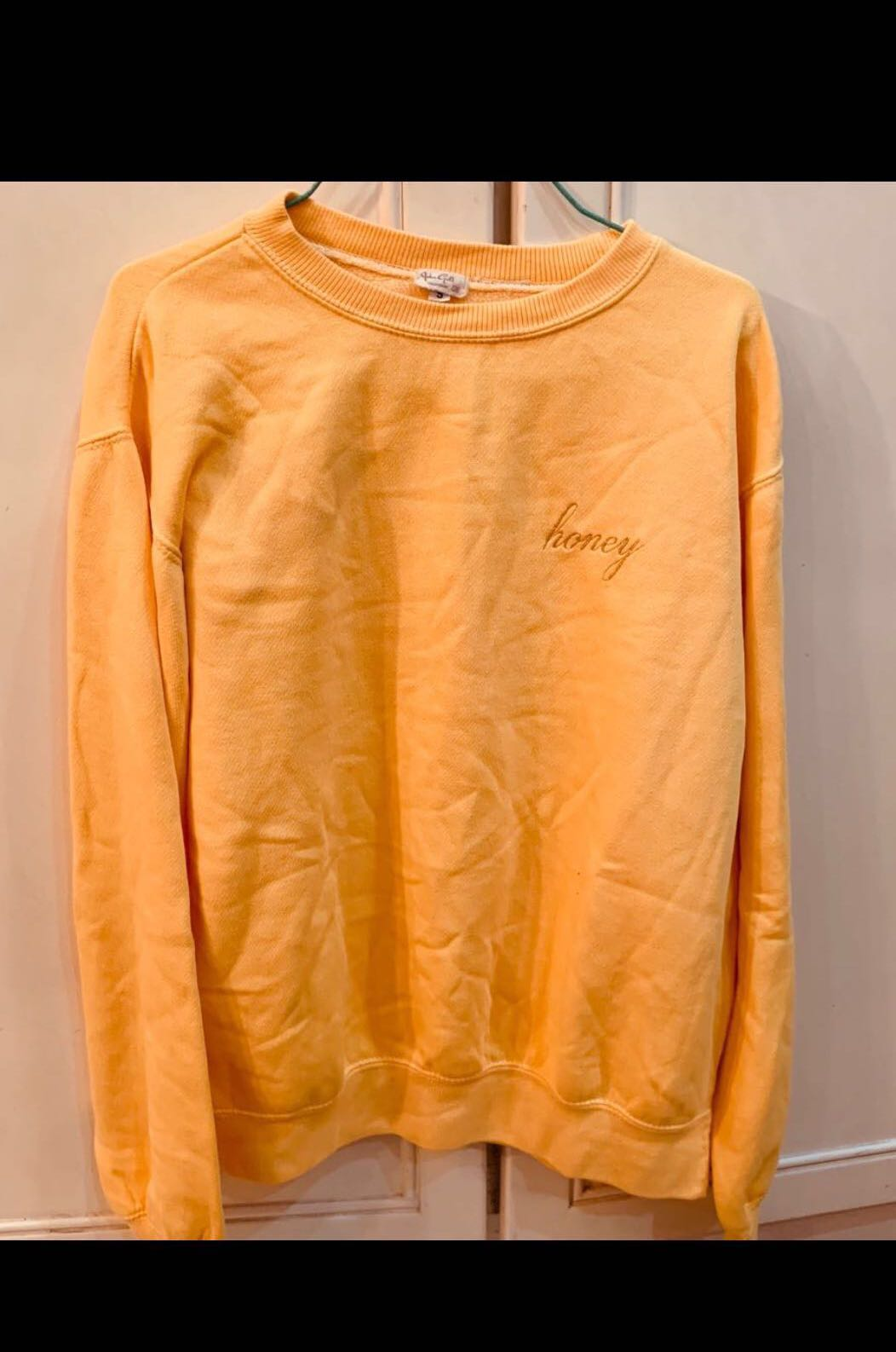 Looking For Brandy Melville Honey Sweater Womens Fashion Clothes