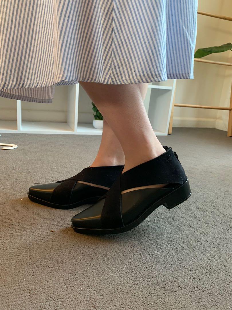 Melissa Cut out Oxford Shoes