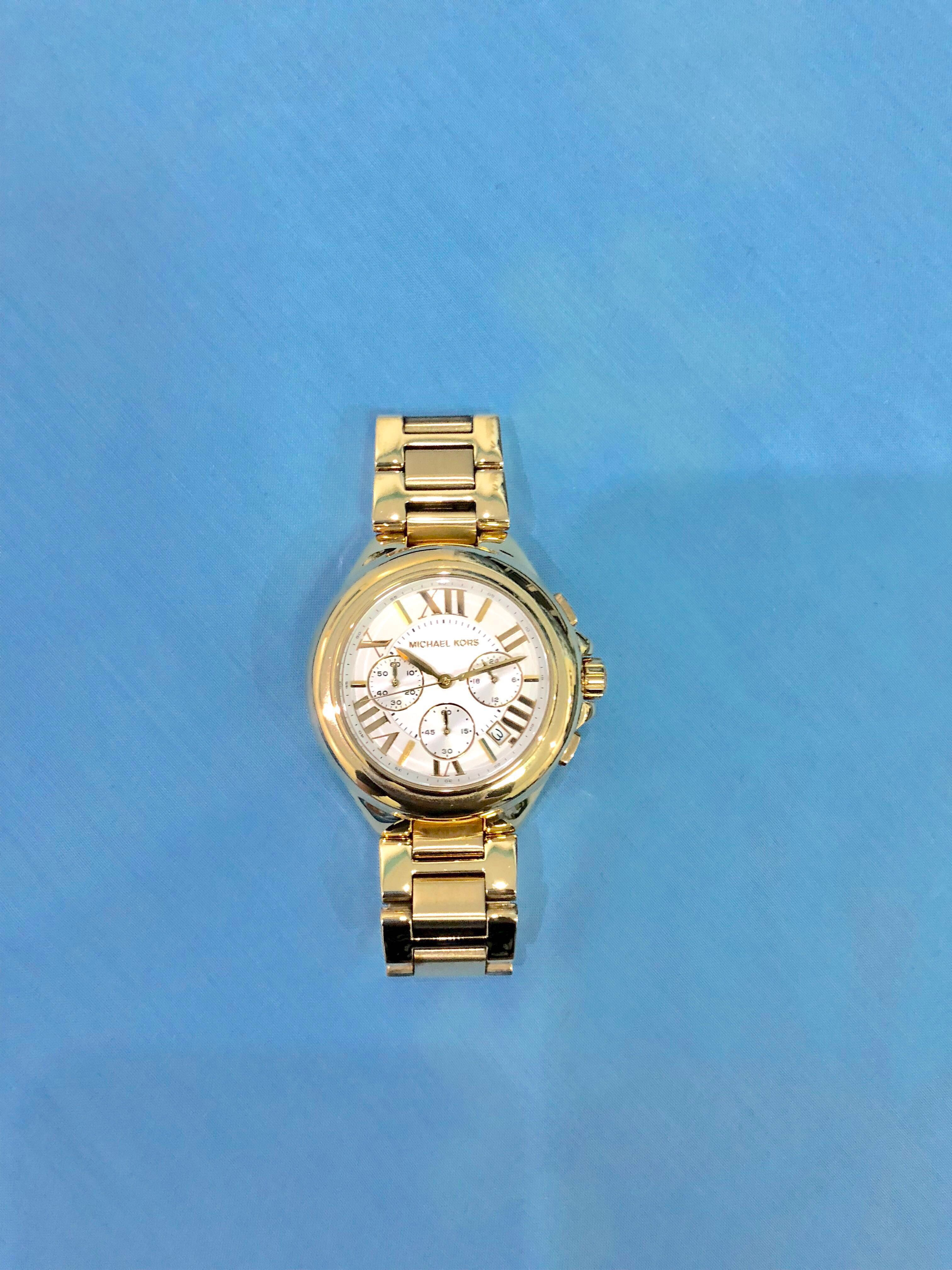 97f3820c86d6 Michael Kors Camille Gold Watch MK5635, Women's Fashion, Watches on ...