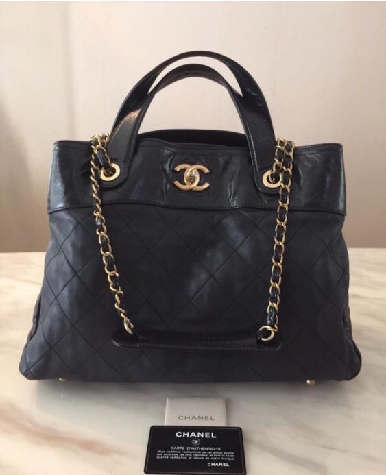 3318cfcb4d0e CHANEL Portobello In the Mix Tote, Luxury, Bags & Wallets, Handbags on  Carousell