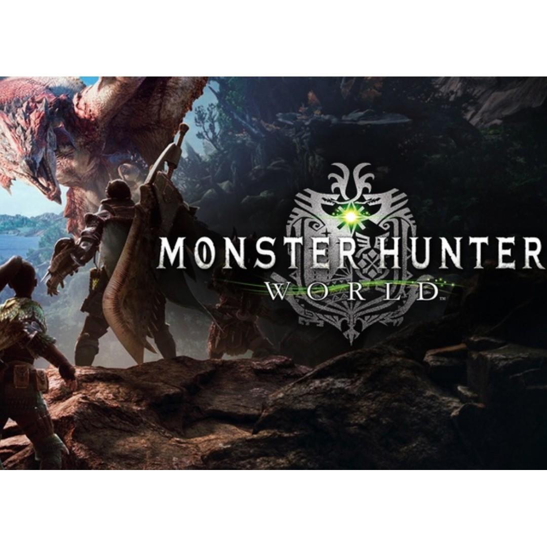 Monster Hunter World Game Redeem code for Steam