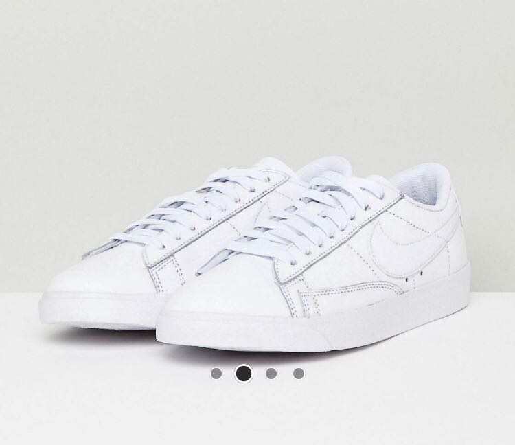 Nike Blazer Trainers Sneakers White US5.5 597f5917e887