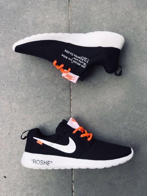 cheap for discount b42eb dc9cf Nike Roshe Run Off White