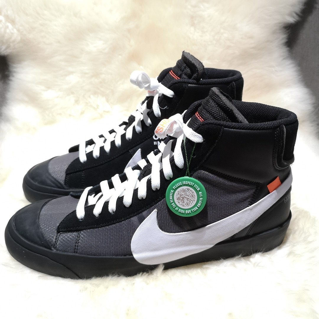 8d9f000bc3 Nike x Off White Blazer Mid 'Grim Reapers', Men's Fashion, Footwear ...